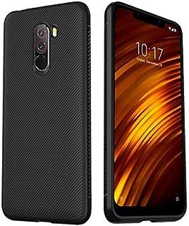 Xiaomi Pocophone F1 Ultra-Slim Shockproof Soft TPU Case Cover - Black
