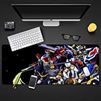 機動戦士ガンダムド滑り止めゴム製コンピューターマウスパッド、大型デスクパッド、プロのゲーミングマウスパッド-アニメデザイン大型マウスパッドゲーミングキーボードパッドアニメマウスパッド疲労軽量防水マウスパッド800 * 300 * 3MM / 900 * 400 * 3MM-A_900*400*3mm