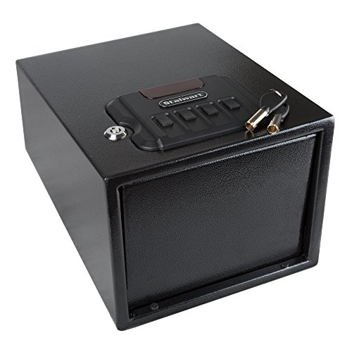 Stalwart 65-HG-60 Steel Quick Access Gun Safe with Electronic Lock, Black