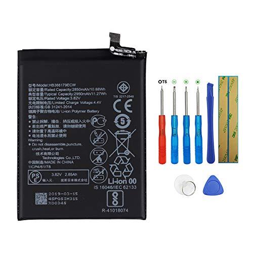 Swark Akku HB366179ECW Kompatibel mit Huawei Nova2 Nova 2 CAZ-TL00 CAZ-AL10 with Tools