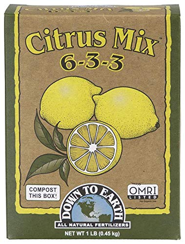 Down to Earth Organic Citrus Fertilizer Mix 6-3-3