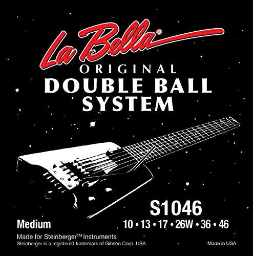 Labella LS1046 Juego de cuerdas de bola doble para guitarra eléctrica