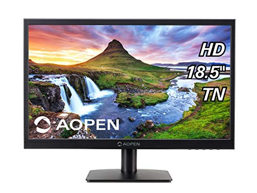 Aopen by Acer 18.5-inch LED Monitor with VGA Port - 19CX1Q (Black)