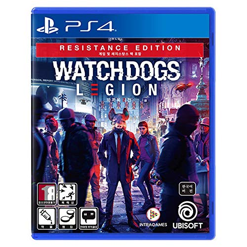 Watch Dogs Legion Resistance Edition [Korean Edition] - PlayStation4