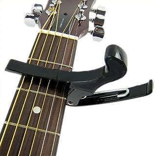 ac/ústica cambio r/ápido Cejilla para guitarra el/éctrica de Mugetech acci/ón con una sola mano cl/ásica