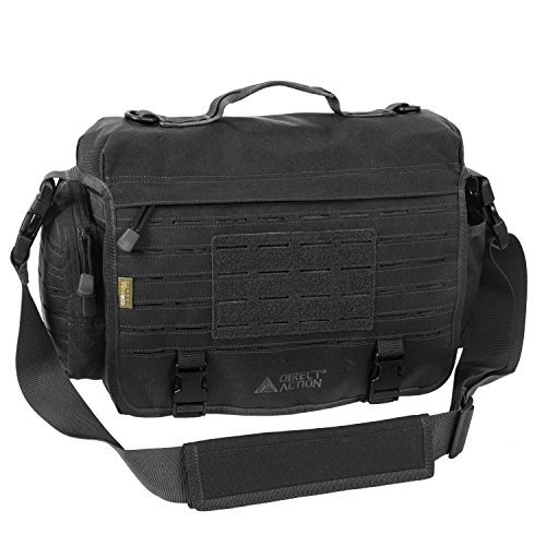 Direct Action Messenger Tactical Bag Coyote Brown Mk I 10 Liter Capacity, Ideal for Laptop, ipad or Tablet