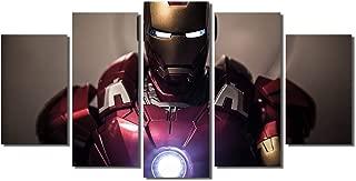 Picture Sensations Framed Canvas Art Print, Iron Man Marvel Avengers Age of ultron Super Hero - 60