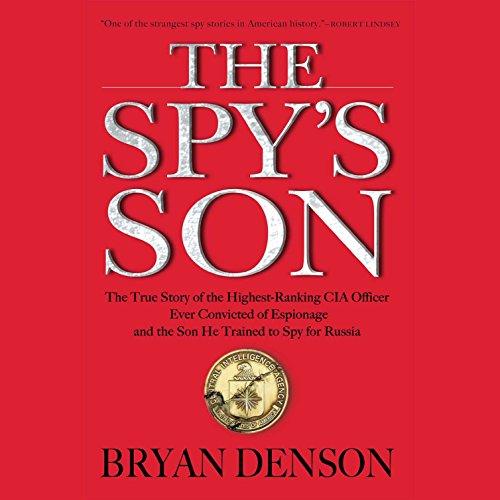 The Spy's Son audiobook cover art