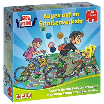 12656 - Jumbo Spiele - Aufgepasst im Straßenverkehr
