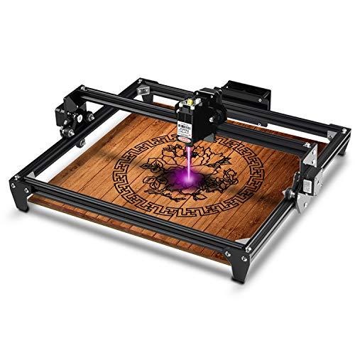 Twotrees Totem Laser Engraver CNC Laser Engraving Cutting Machine, DIY Laser Marking for Metal 300x400mm (7.5w Input Power& 2.5w Laser Power)