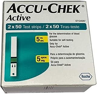Accu-Chek Active Strips, 100 (50x2) (Multicolor)
