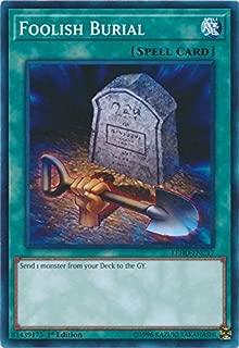 Yu-Gi-Oh! - Foolish Burial - LEHD-ENC17 - Common - 1st Edition - Legendary Hero Decks - Phantom Knights Deck