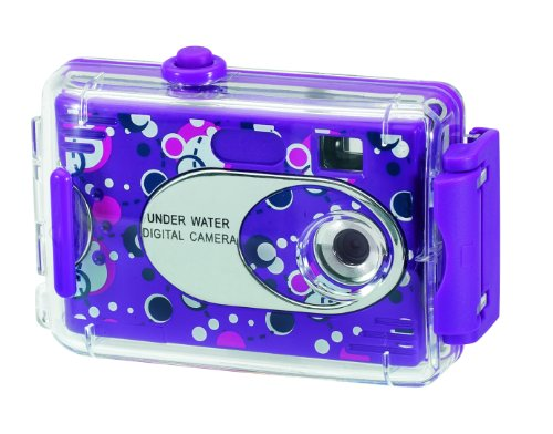Aquashot Underwater Digital Camera, 26690-RITE - Assorted