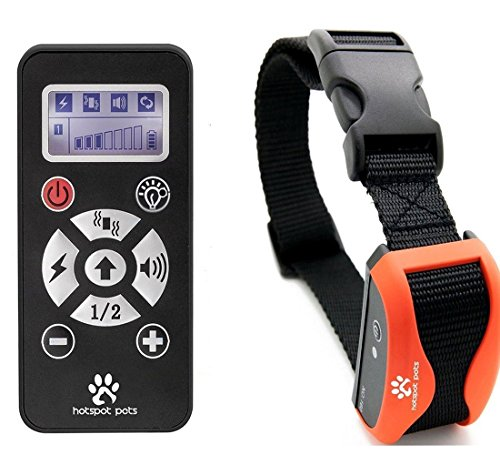 Best Shock Collar For Dogs -Waterproof Rechargeable Dog Training Collar - 800 Yard Long Range With 7 Levels Of Simulation & Vibration