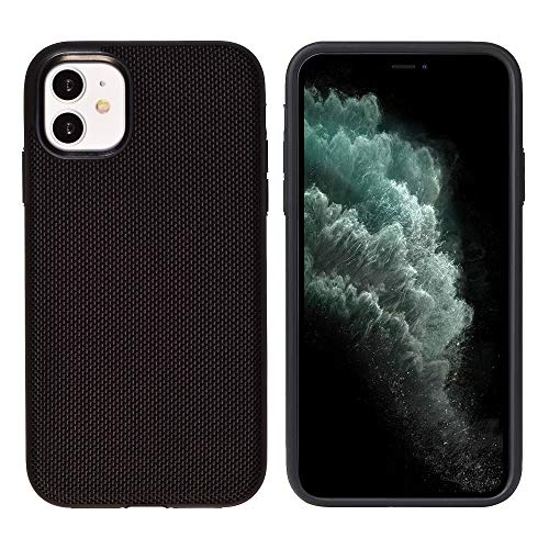 Glasfaser Extrem Schutzhülle von iShield Hülle für iPhone 11 MODERNES Design UND ULTIMATIVER Schutz (Schwarz)