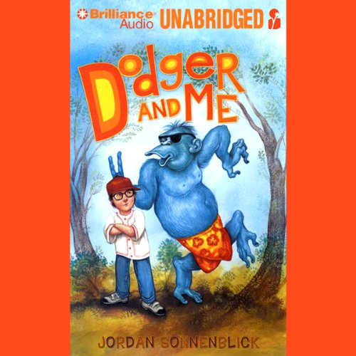 Dodger and Me audiobook cover art
