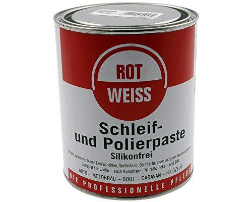Schleif- und Polierpaste ROT-WEISS - 750ml