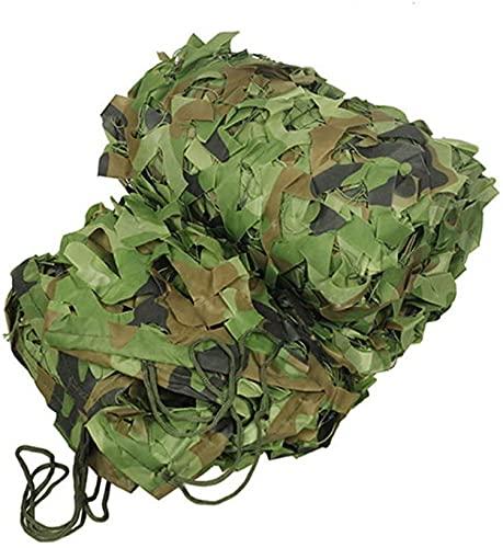 KEANCH Protección Camufar para Jardín, Camouflage Camo Net, para Woodland, Camping, Caza, Disparos, Decoración del Partido Tema, Netificación Oculta Jungle, Varios Tamaños(Size:10x10m(32.8 * 32.8ft))