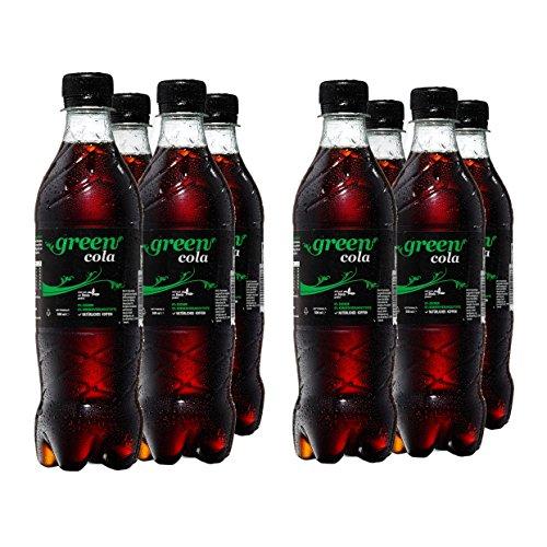 Green Cola Getränk Zuckerfrei Aspatamefrei Ohne Konservierungsstoffe Nur Natürliche Aromen inkl. Pfand (PET Flasche 0,5l 8er Pack)