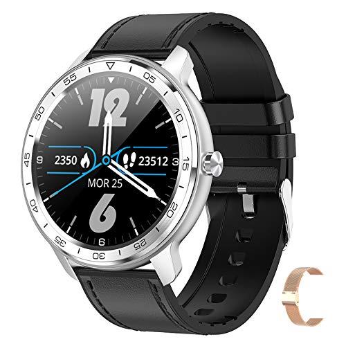 BNMY Smart Watch Sportuhr 1,3-Zoll-IPS-Bildschirm Fitness Tracker IP67 Wasserdichter Schlaf- / Herzfrequenzmonitor Mehrere Sportmodi Kompatibel Mit Android Ios (Give A Random Strap),C