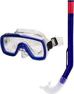 AQUALUNG - Peeka Horizon Pro - Equipo de buceo para niños (gafas y tubo) azul azul