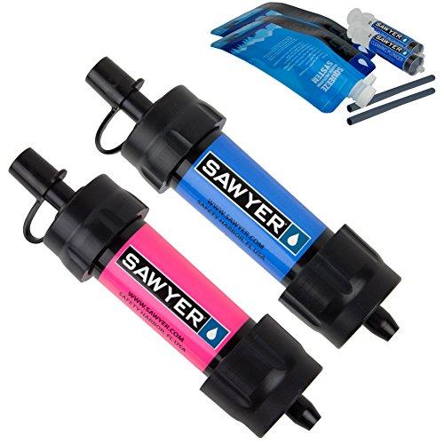 Sawyer Products Mini sistema de filtración de agua