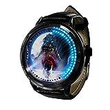 Anime Dragon Ball ZLED Reloj de Pantalla táctil Impermeable Luminoso Reloj Digital Unisex Cosplay Regalo Nuevo Reloj niños Regalo-D
