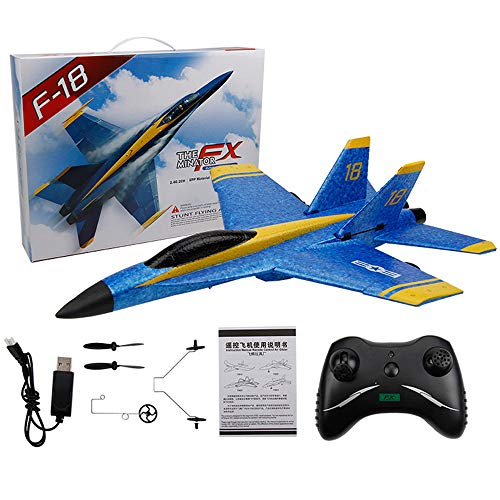 Weaston FX828 RC Fighter 2.4G Avión Eléctrico RC...