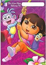 Plastic Loot Bags | Dora's Flower Adventure Collection | Party Favor | 8 ct.