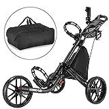 Caddytek EZ-Fold Carrito de Golf con 3 Ruedas