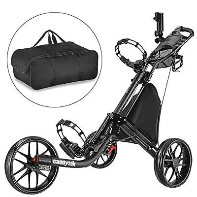 CADDYTEK Facil-plegable Carrito golf