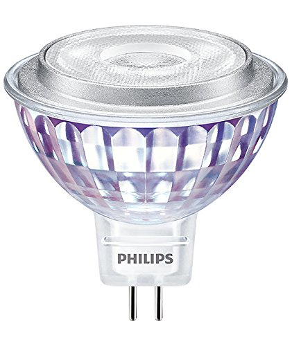 PHILIPS LED Lampe 7 Watt 827 warmweiß extra 36 Grad Spot MR16 Strahler GU5.3 12 Volt dimmbar Glaskörper