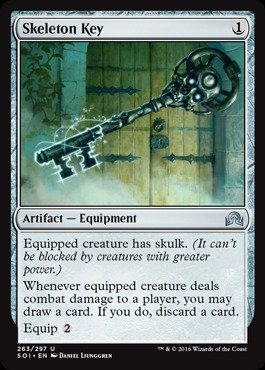 Magic the Gathering - Skeleton Key - Passe-partout Scheletrico - Shadows Over Innistrad