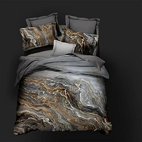 Bedclothes-Blanket Juegos de Fundas para edredón,Impresión Digital 3D Conjunto de Tres Piezas de Almohada Mangas de Cama-Metro_20 Conjuntos de Fundas de Almohadas de 200 * 230 cm 2