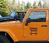 auto-aufkleber Personal Trainer Gewichte Aufkleber lustige Aufkleber für Fenster Dekoration für...