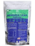 1 lb. Premium Organic Moringa Oleifera Leaf Powder. 100% USDA Certified. Sun-Dried, All Natural...
