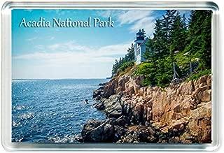 J426 Acadia National Park Jumbo Refrigerator Magnet US American Travel Fridge Magnet USA