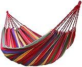 Venta de hamacas de Equipo para Acampar Calientes Arco Iris Ocio al Aire Libre Hamacas de Lona Dobles para 2 Personas Hamaca de Camping Ultraligera con Mochila Silla Perezosa