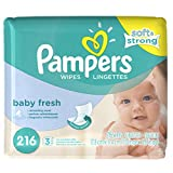 Pampers Baby Fresh Scented Baby Wipes Refill - 216ct