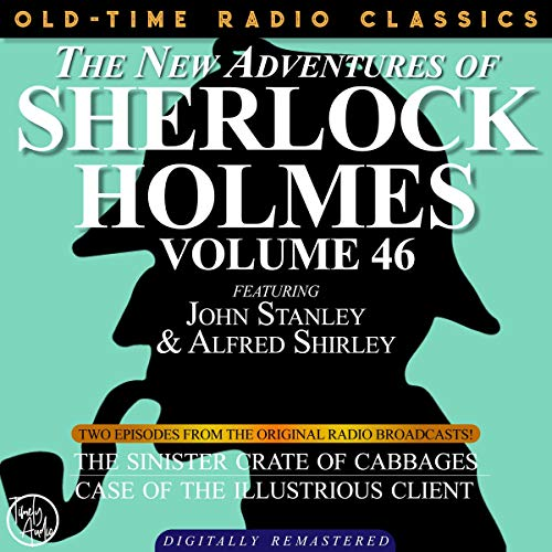 The New Adventures of Sherlock Holmes, Volume 46; Episodes 1 and 2 cover art