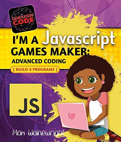 I'm a Javascript Games Maker: Advanced Coding (Generation Code)
