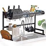 85 Cm Cocina Decking Rack En Fregadero Drenaje Estructura De Acero Inoxidable Estante De Cocina Estante De Cocina Almacenamiento De Cocina Cutlery Rack Ahorra Espacio DXY (Size : 65cm)