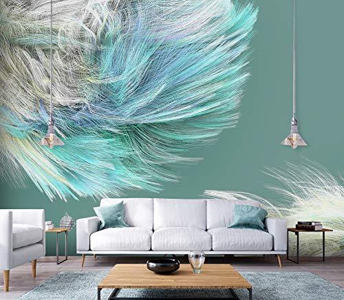 """3D Kleur Vacht WG0313 Behang Afdrukken Decal Deco Binnen Muur Muurschildering Zelfklevend Behang AJ WALLPAPER NL Muzi (Vinyl (geen lijm en verwijderbaar), 【123""""x87""""】312x219cm(WxH))"""