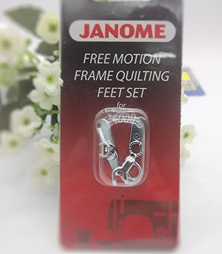 Janome 1600p Convertible Free-Motion Frame Quilting Foot Set by Janome