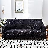 WXQY Funda de sofá elástica para Sala de Estar Funda de sofá Antideslizante Todo Incluido Funda de Toalla de sofá de Esquina en Forma de L elástica A13 2 plazas