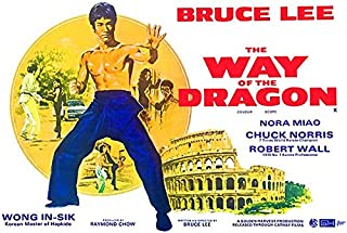 The Way of The Dragon - 1970 - Movie Poster