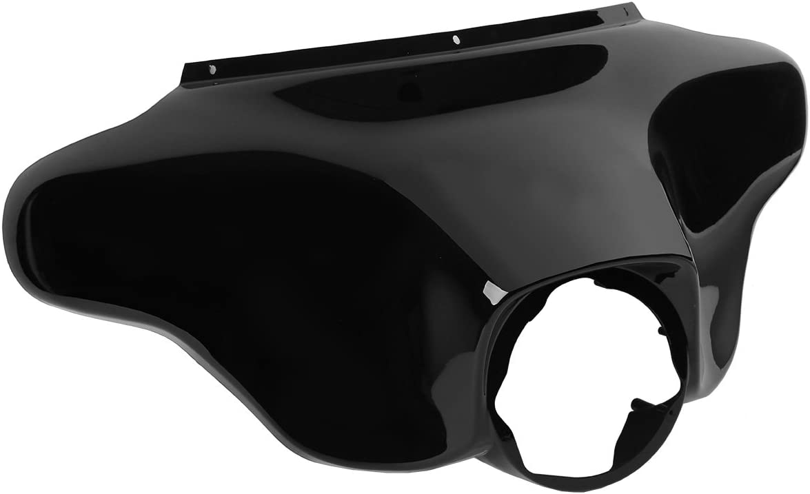 XMT-MOTO Vivid Black Front Batwing For Limited Special Price Super beauty product restock quality top Outer Harle Fairing Upper