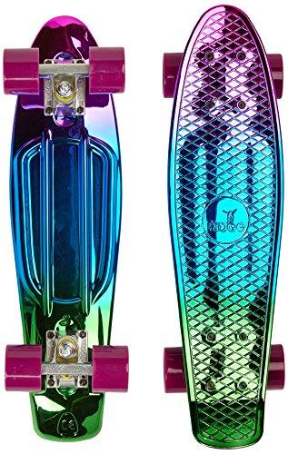 Ridge Skateboard Neochrome Range Mini Cruiser 22