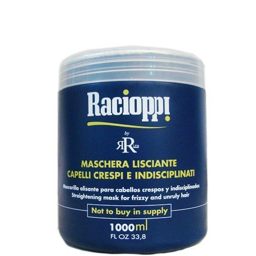 Rr Line Racioppi Straightening Mask for Frizzy and Unruly Hair 33oz