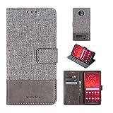 Ycloud Portefeuille Coque pour Motorola Moto Z3 Play Smartphone, PU Cuir Flip Magnétique Housse...